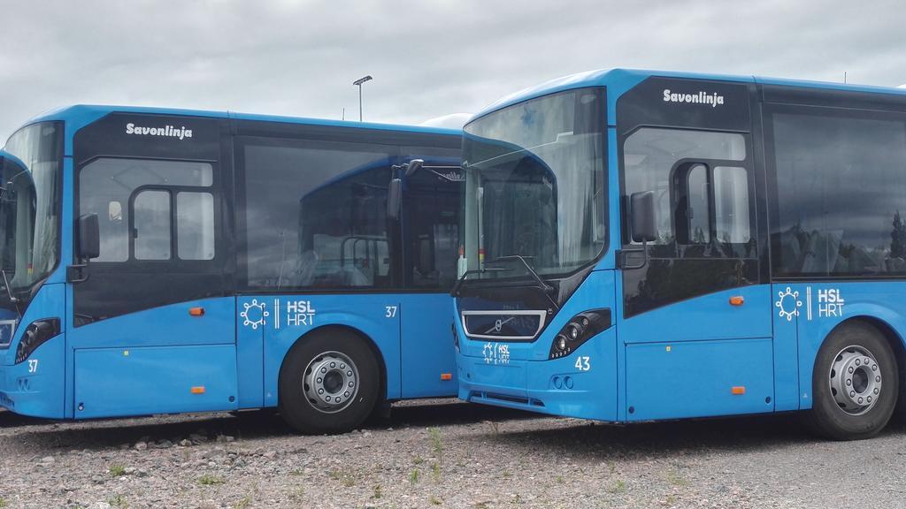Uudet bussit, syksy 2017