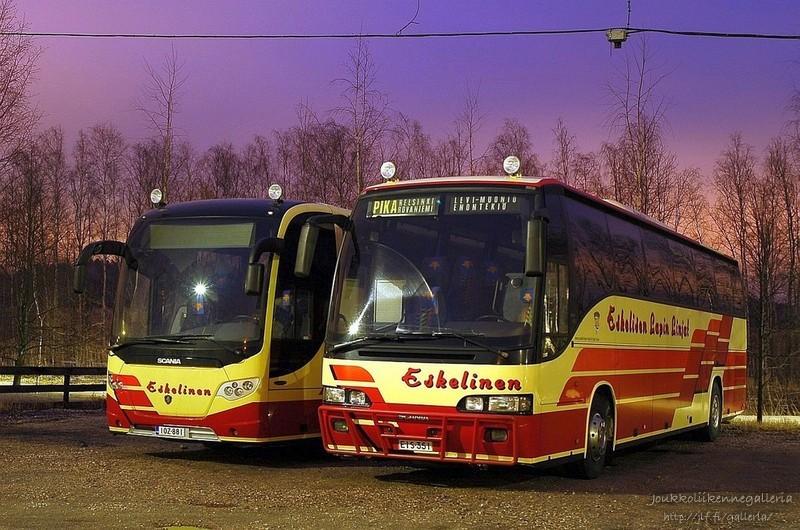 J.M. Eskelisen Lapin Linjat EIS-351 ja IOZ-881