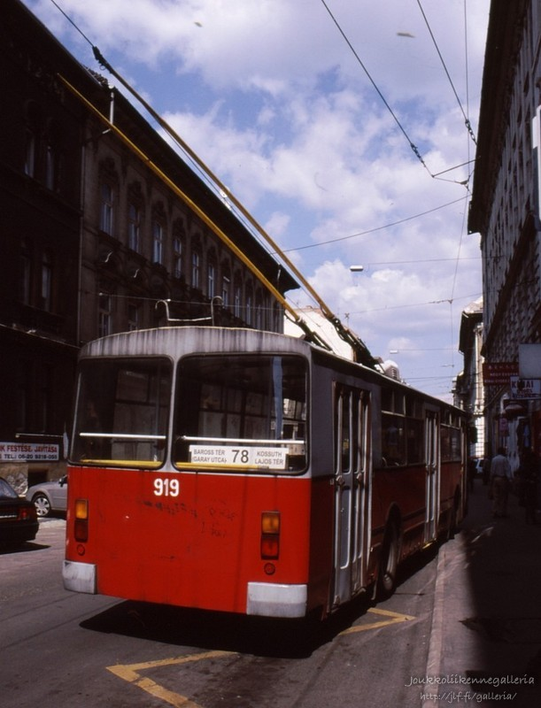 Budapestin Liikennelaitos (BKV) 919