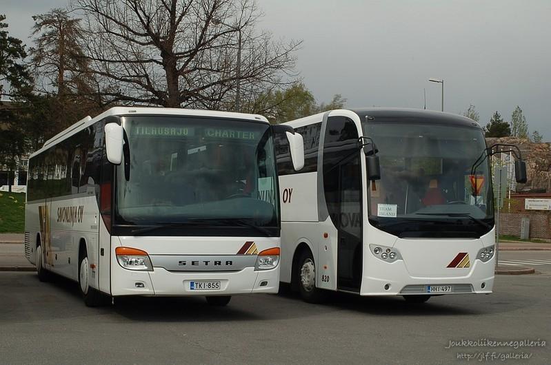 Savonlinja 777 ja 820