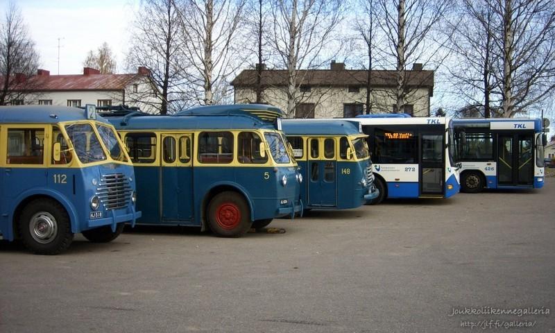 Tampereen kaupungin liikennelaitos 112, 5, 148, 272 ja 426