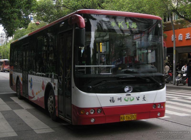 Uusia kaupunkibusseja Fuzhoussa