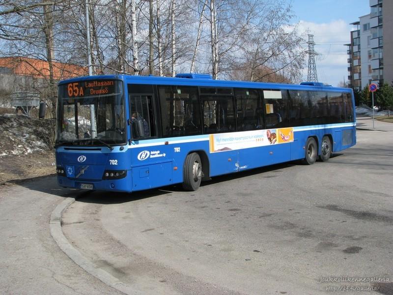 Helsingin Bussiliikenne Oy 702