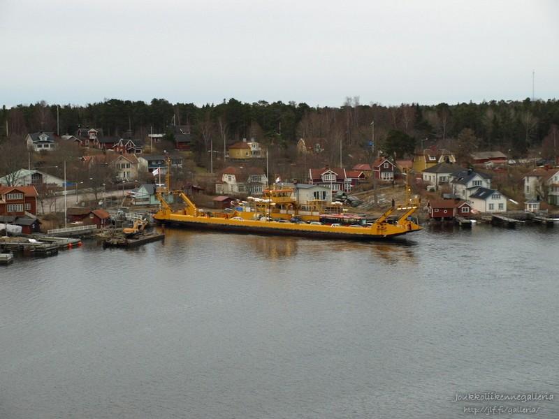 Lossi Tukholman saaristossa