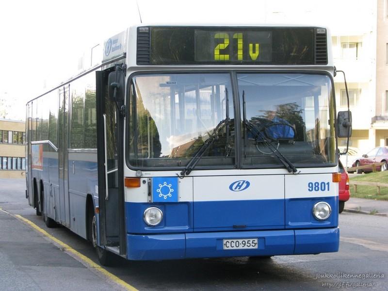Helsingin Bussiliikenne 9801