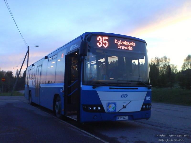 Helsingin Bussiliikenne 815