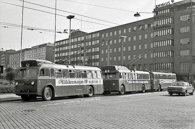 Tampereen Kaupungin Liikennelaitos 5 ja 29