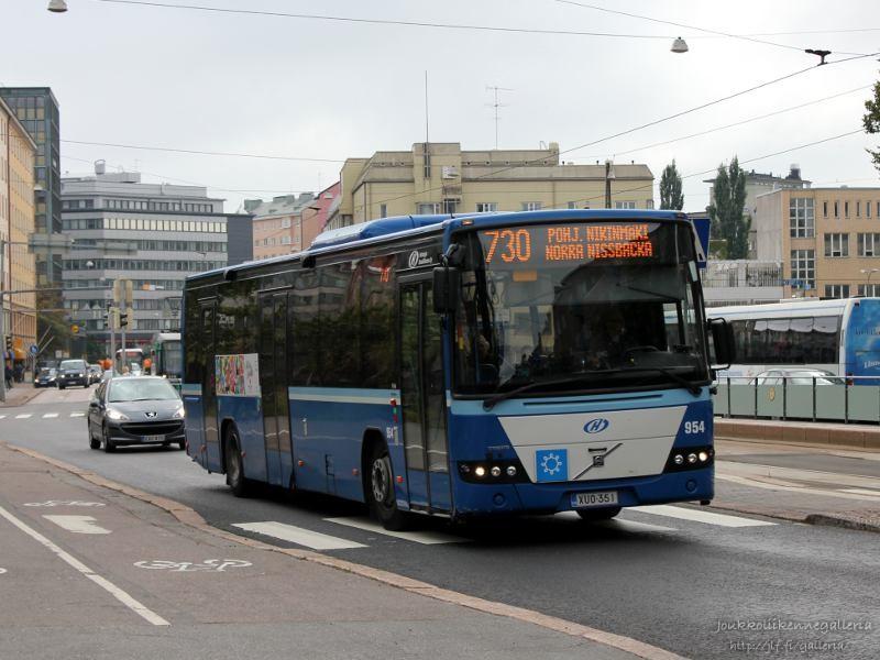 Helsingin Bussiliikenne 954