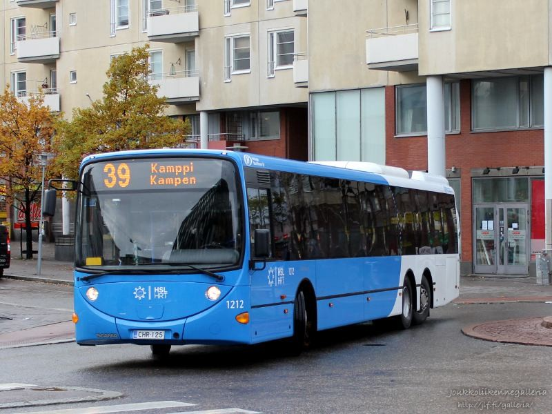 Helsingin Bussiliikenne 1212