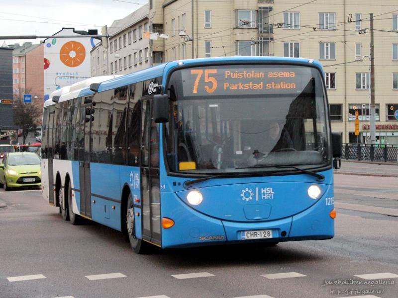 Helsingin Bussiliikenne 1215