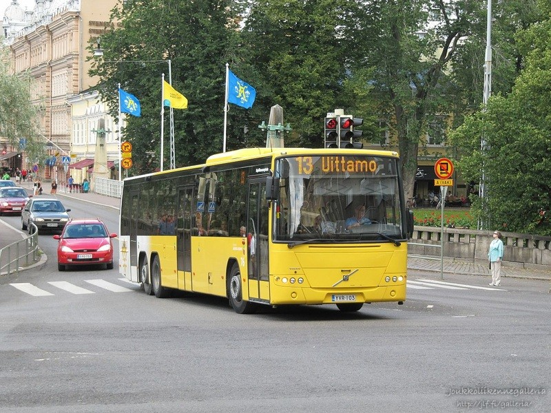 Linjaliikenne Nyholm 76