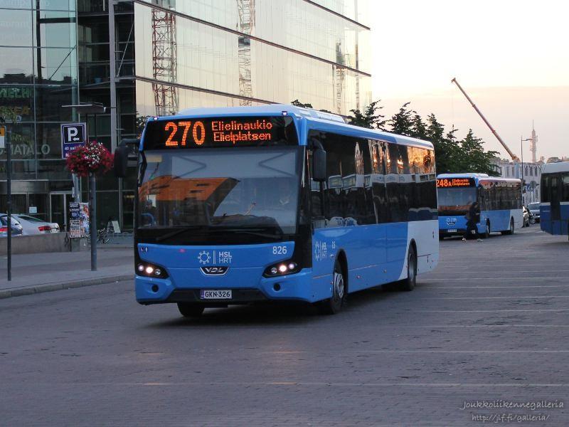 Nobina Finland 826