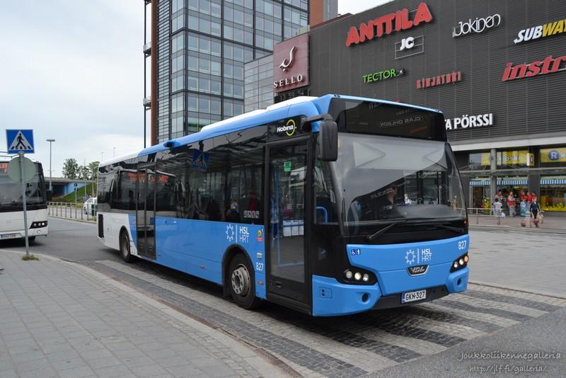 Nobina Finland 827