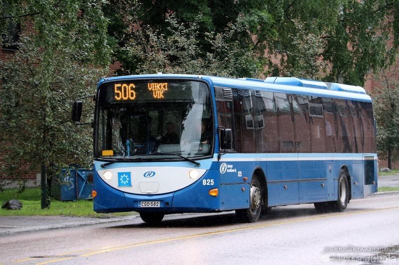 Helsingin Bussiliikenne 825