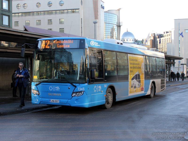 Helsingin Bussiliikenne 1343