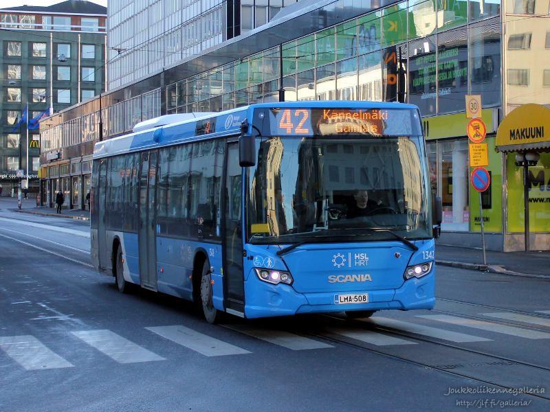 Helsingin Bussiliikenne 1342