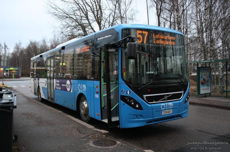 Pohjolan Liikenne 668