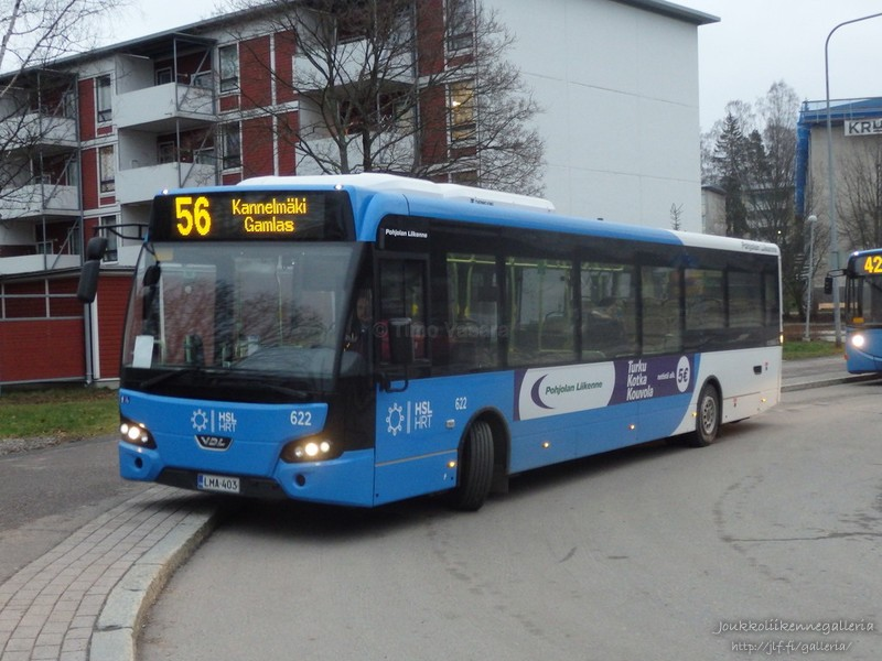 Pohjolan Liikenne 622