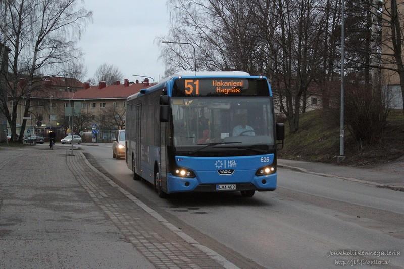 Pohjolan Liikenne 626