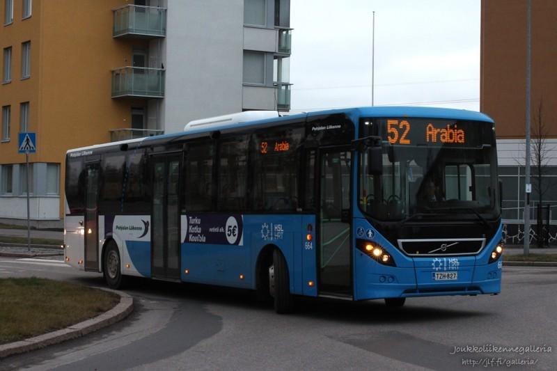 Pohjolan Liikenne 664