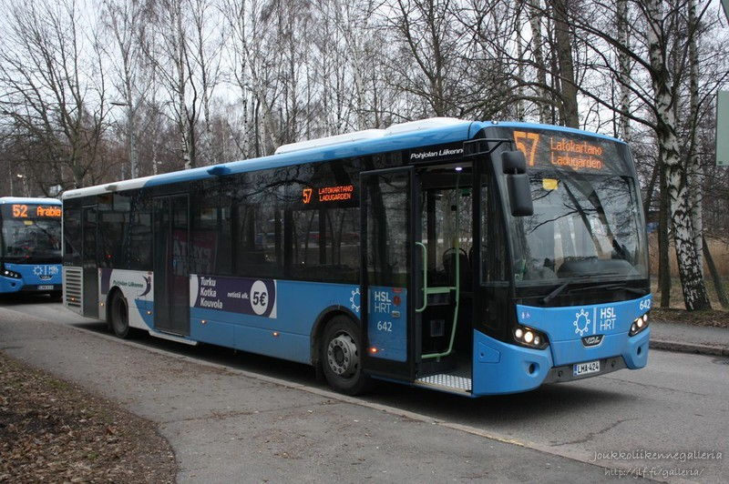 Pohjolan Liikenne 642