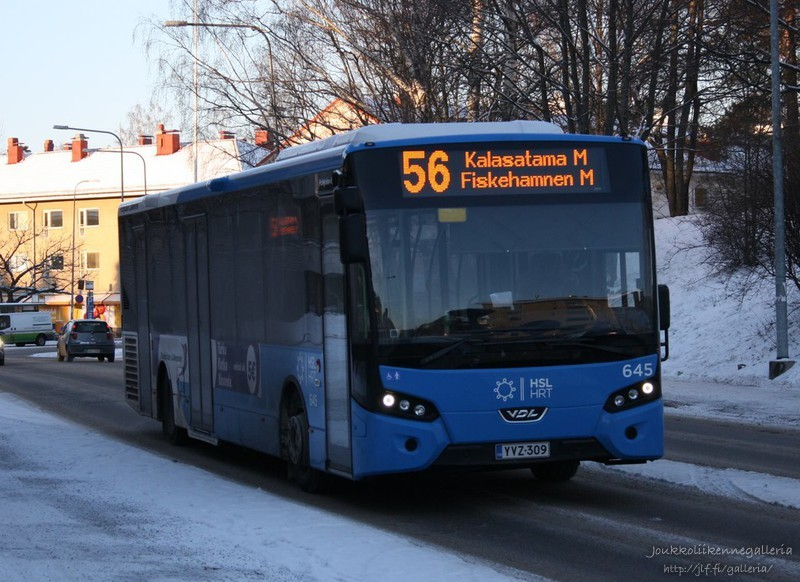 Pohjolan Liikenne 645