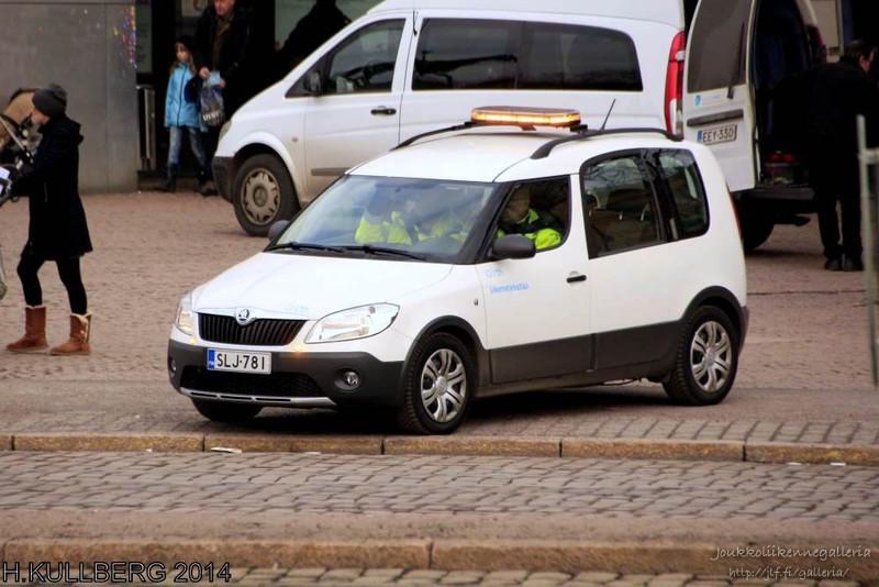 HSL:n liikennetarkastaja