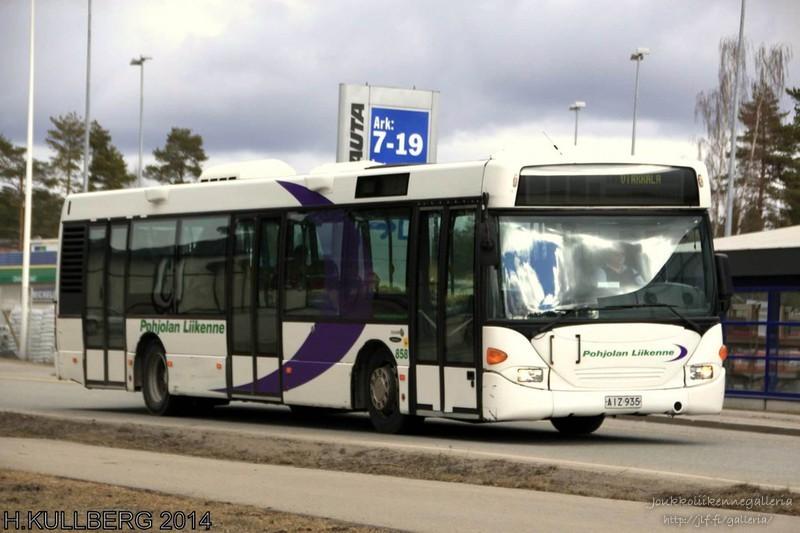 Pohjolan Liikenne 858