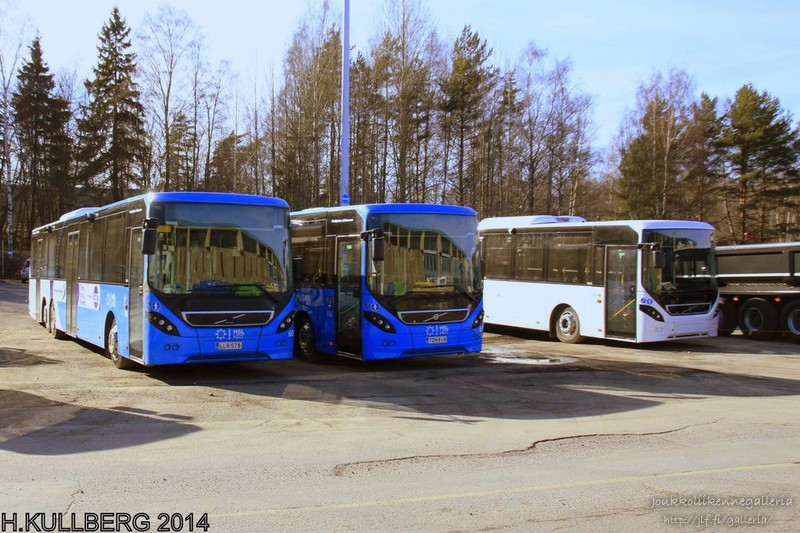 Pohjolan Liikenne 605 ja Pohjolan Liikenne 656