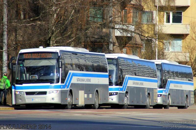 Satakunnan Liikenne 229, 240 ja 40
