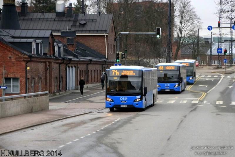 Veolia Transport 1226, 1243 ja 1235