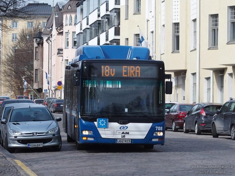 Helsingin Bussiliikenne 708