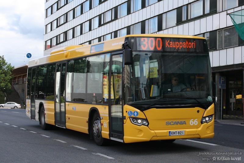 Linjaliikenne Nyholm 66