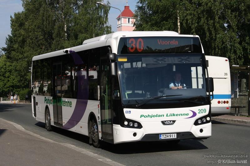Pohjolan Liikenne 209