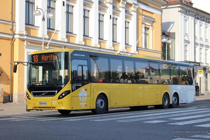 Linjaliikenne Nyholm 51