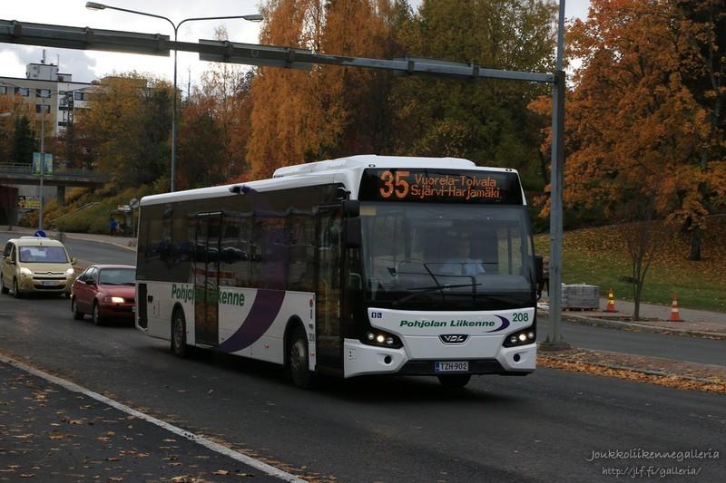 Pohjolan Liikenne 208