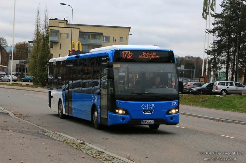 Pohjolan Liikenne 235