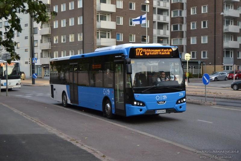 Pohjolan Liikenne 219