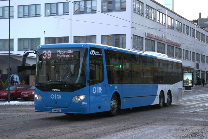 Helsingin Bussiliikenne 1404