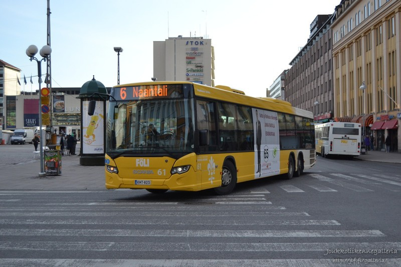 Linjaliikenne Nyholm 61