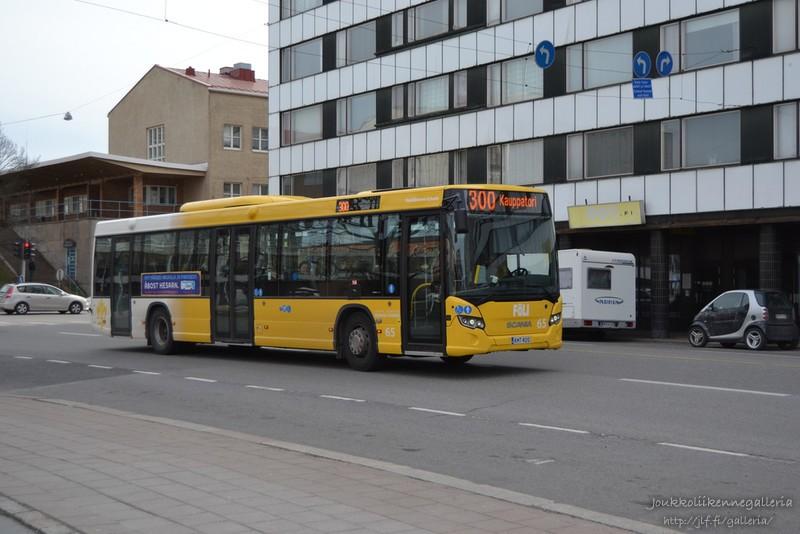Linjaliikenne Nyholm 65