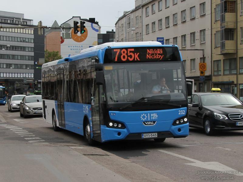 Pohjolan Liikenne 232