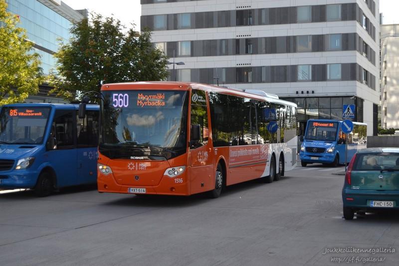 Helsingin Bussiliikenne 1516