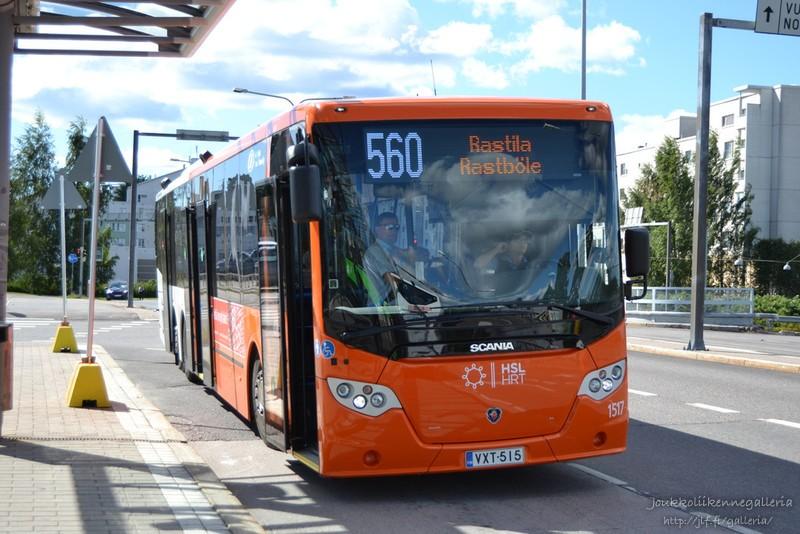 Helsingin Bussiliikenne 1517