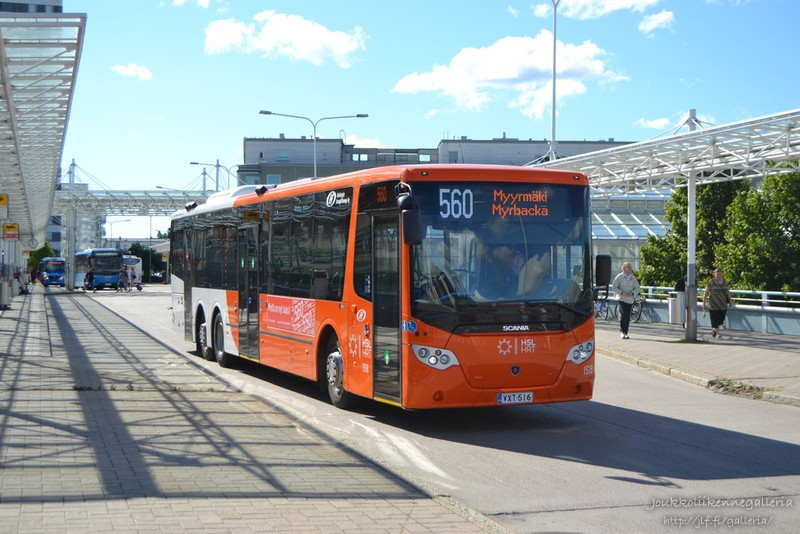 Helsingin Bussiliikenne 1518
