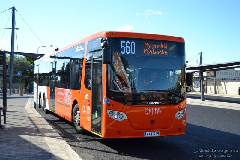 Helsingin Bussiliikenne 1521