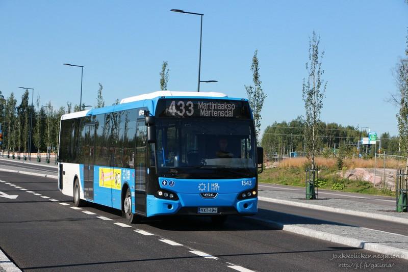 Helsingin Bussiliikenne 1543