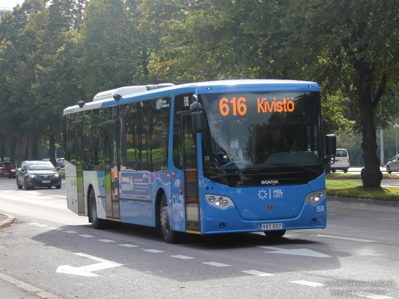 Helsingin Bussiliikenne 1538