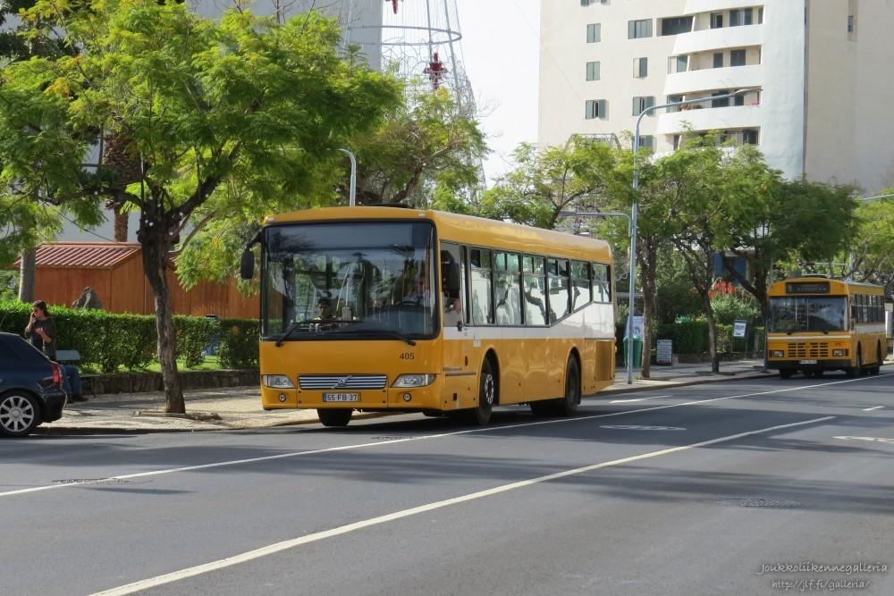 Horarios do Funchal 405