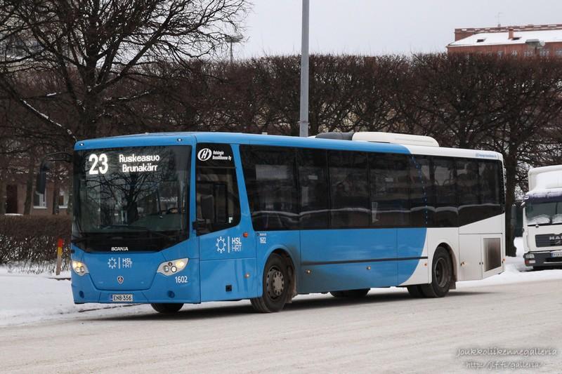 Helsingin Bussiliikenne 1602